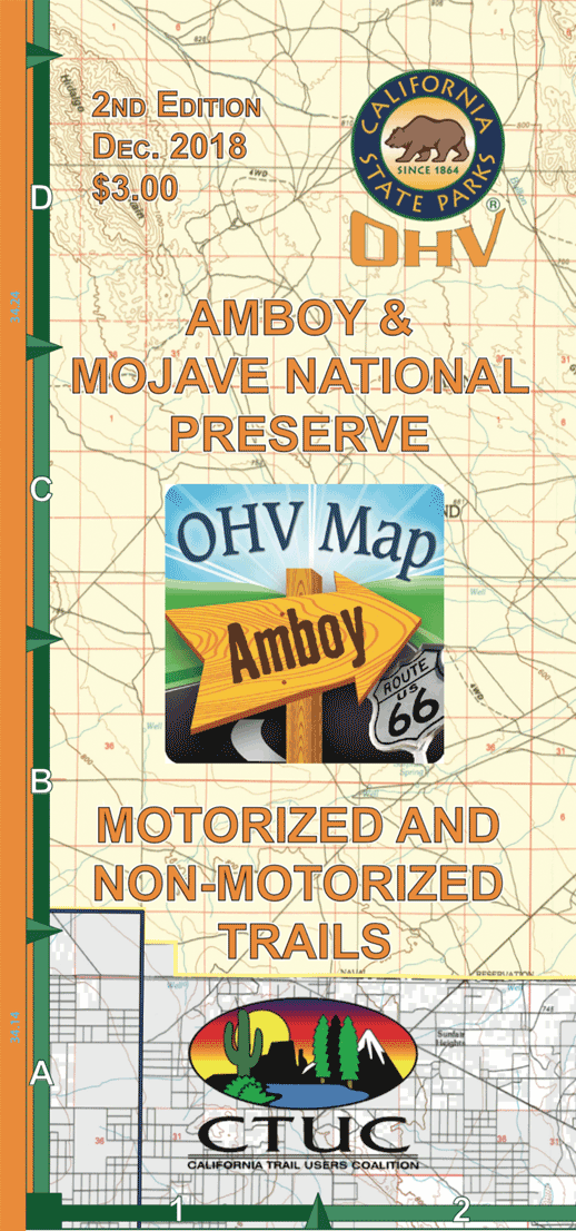 CTUC Map: Amboy & Mojave National Preserve