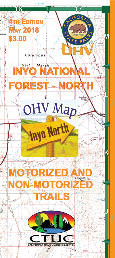 CTUC Map: Inyo National Forest - North