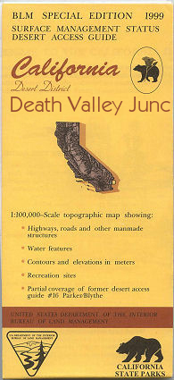 BLM: Death Valley Junction Map