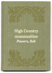 High Country Communities