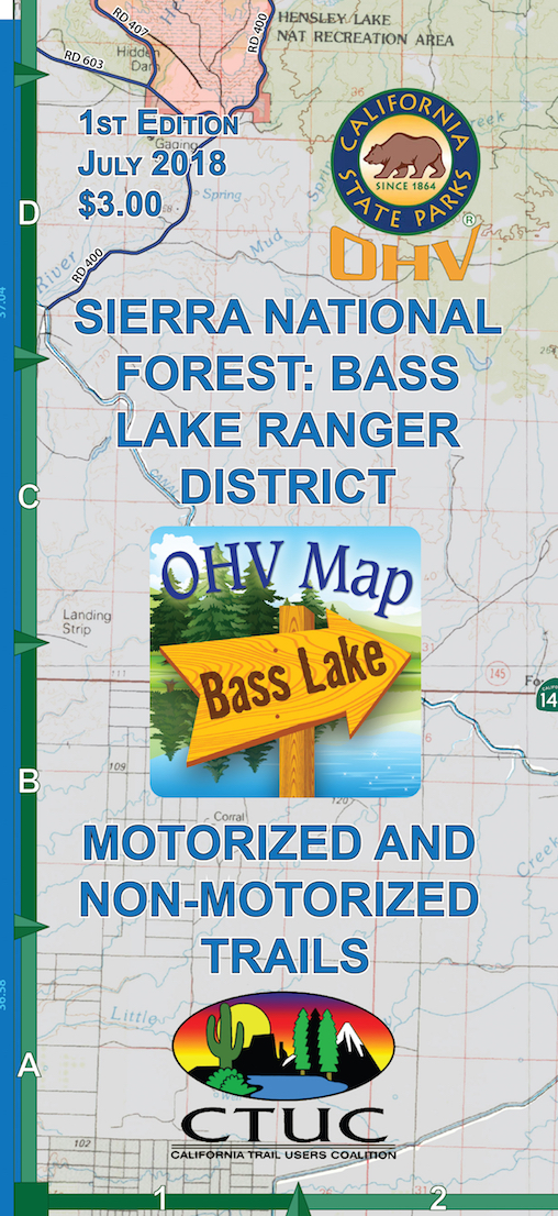 CTUC Map: Sierra National Forest: Bass Lake Ranger District