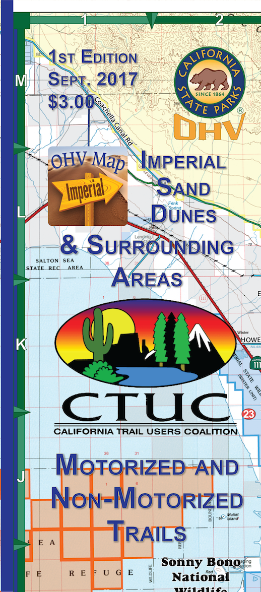 CTUC Map: Imperial Sand Dunes & Surrounding Areas