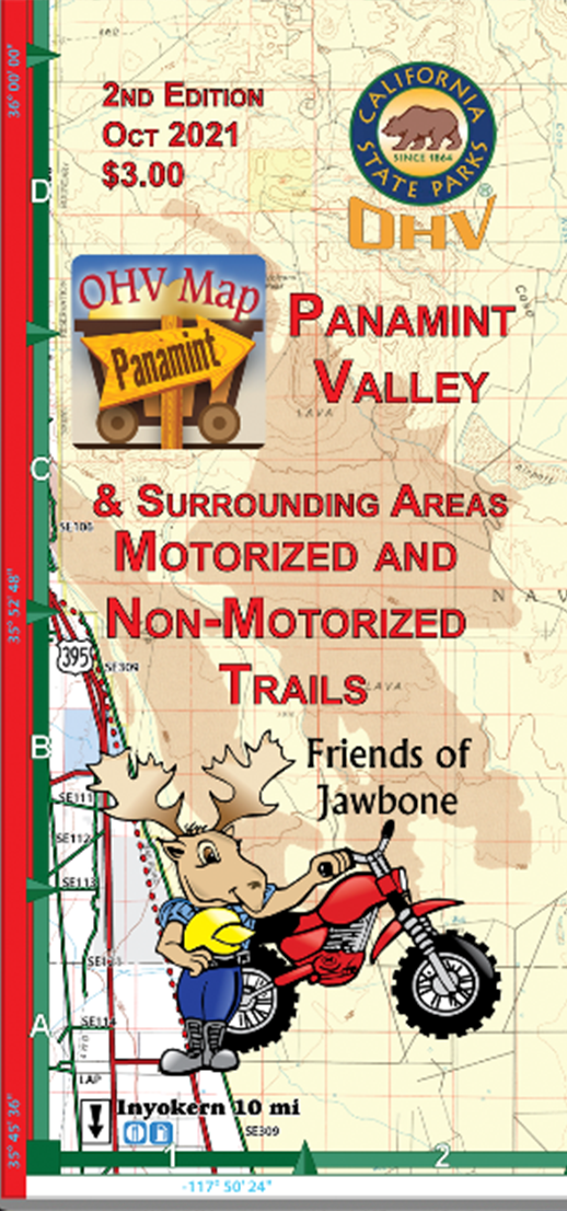 FOJ Map: Panamint Valley OHV Map