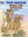 North American Desert Life Coloring Book